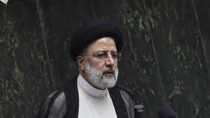'Resistance against arrogant powers': Iran swears in new hard-liner as president