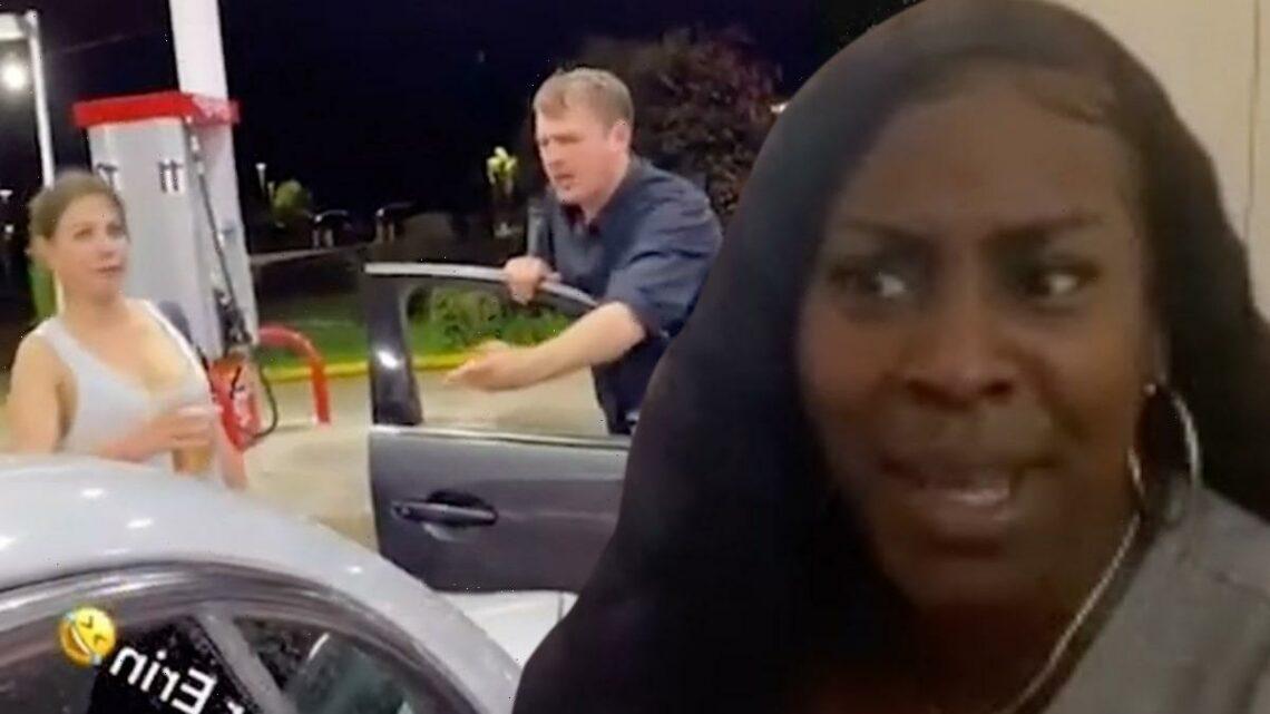 'Gas Station' Karen Racially Profiled Black Man, Calling Him a Drug Dealer