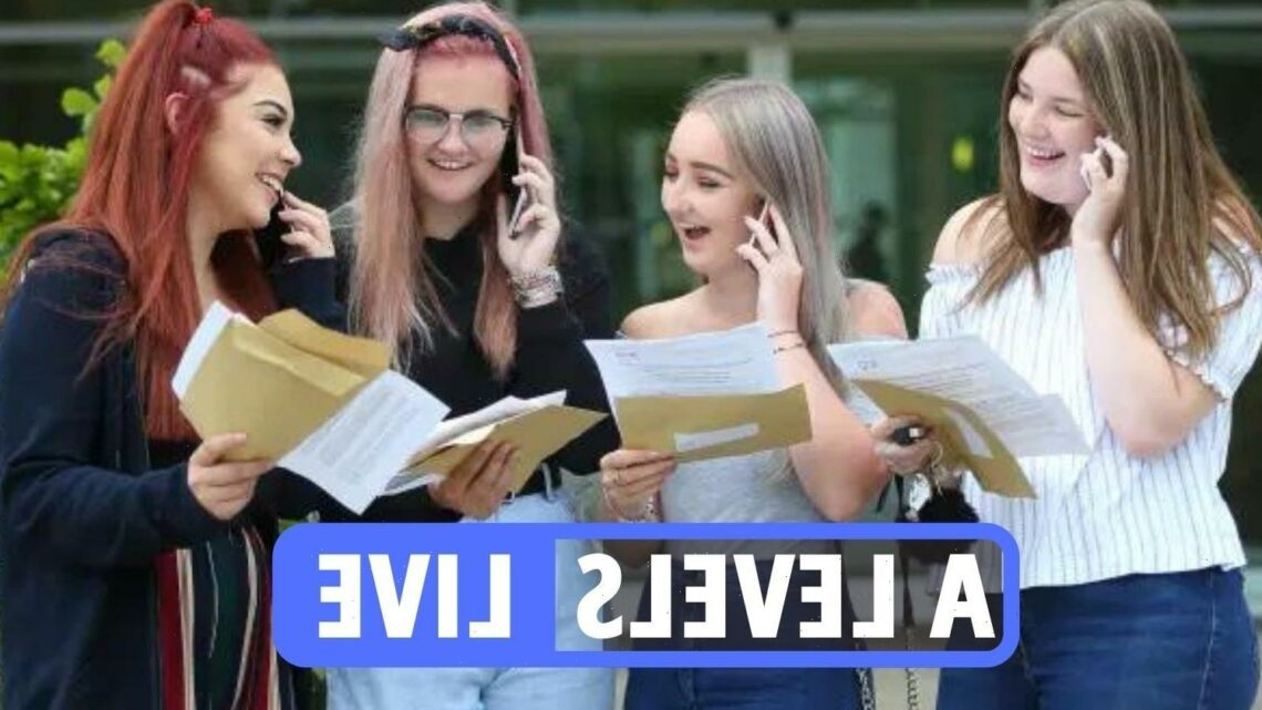 A Level results day 2021 LATEST – Record scores expected amid Clearing concerns as students 'treated fairly'