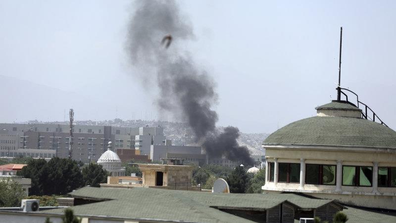 Afghan government falls as the Taliban take charge of Kabul