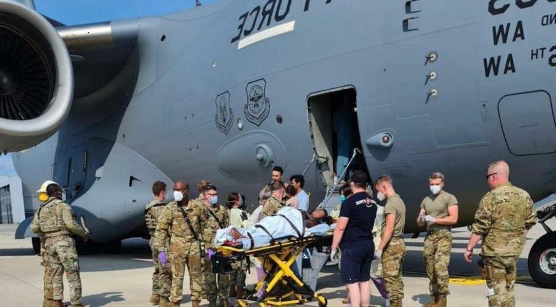Afghan woman gives birth to baby girl aboard U.S. evacuation plane