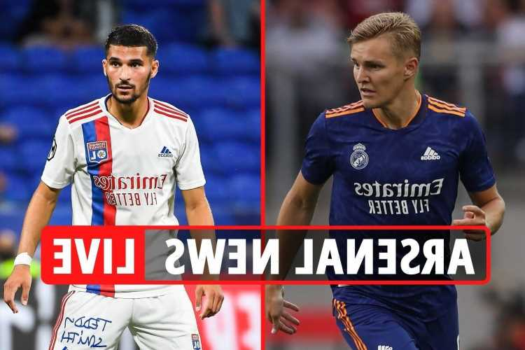 Arsenal transfer news LIVE: Odegaard 'set to sign for £29m', Aaron Ramsdale deal still on, Tottenham join Aouar race