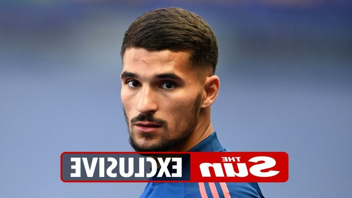 Arsenal will only consider Houssem Aouar loan transfer if they miss out on targets Martin Odegaard and James Maddison