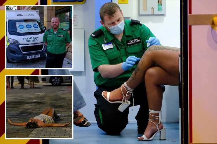 As Freedom Day sparks a rise in casualties, we join medics on Britain's boozy front-line