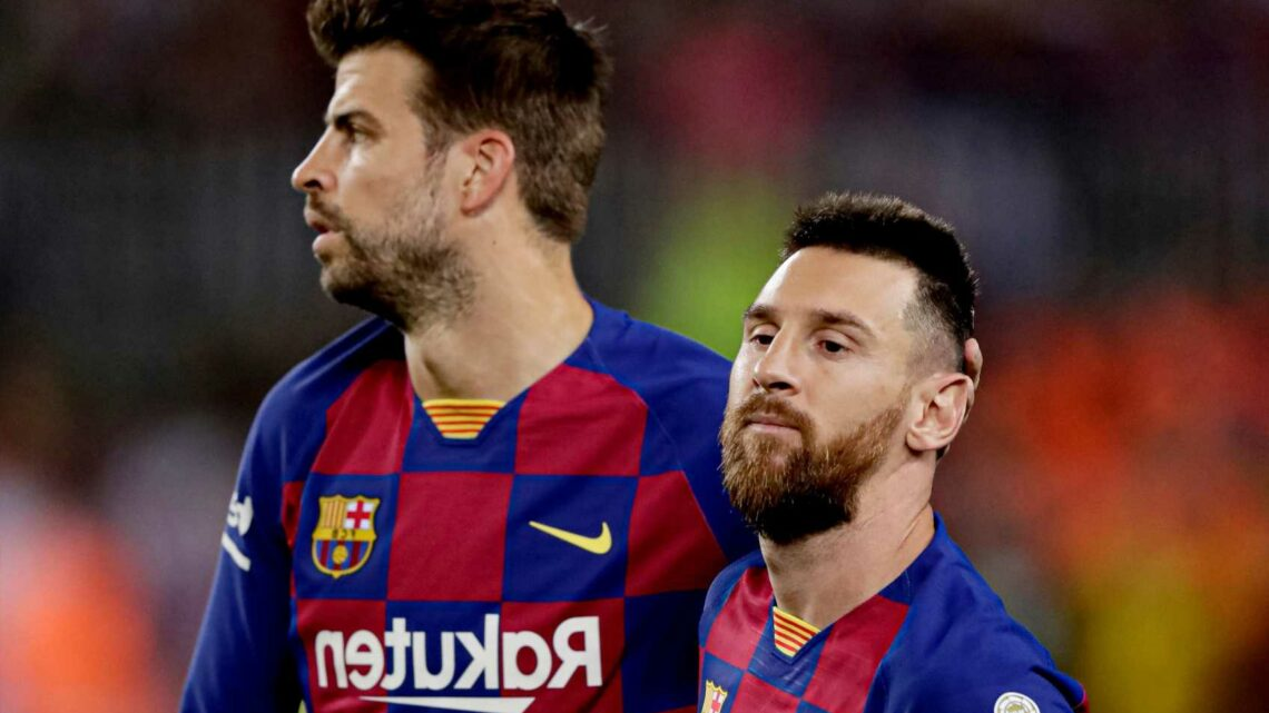 Barcelona star Gerard Pique 'buys Ligue 1 TV rights for next three years' after Lionel Messi joins PSG on free transfer