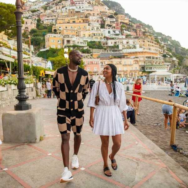 Bask in Gabrielle Union & Dwyane Wade's Italian Vacation Style