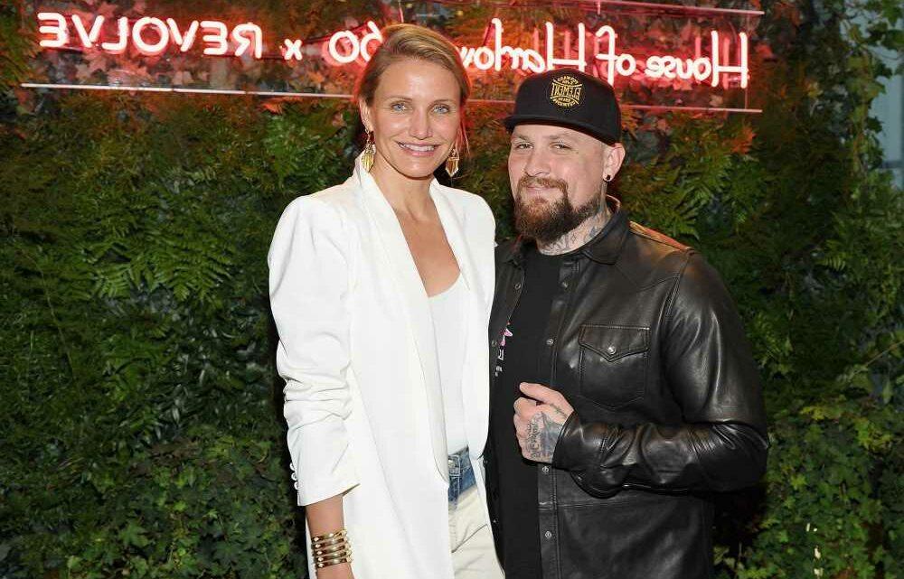 Benji Madden gushes over 'beautiful' Cameron Diaz in birthday tribute