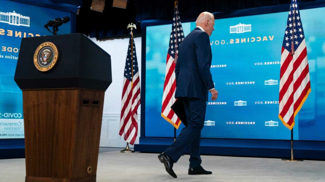 Biden AGAIN ignores questions about Afghanistan crisis after comms director says he 'never shies away' from reporters