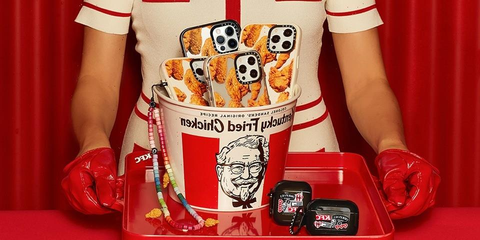 CASETiFY and KFC Serve up Tasty Accessories Collaboration