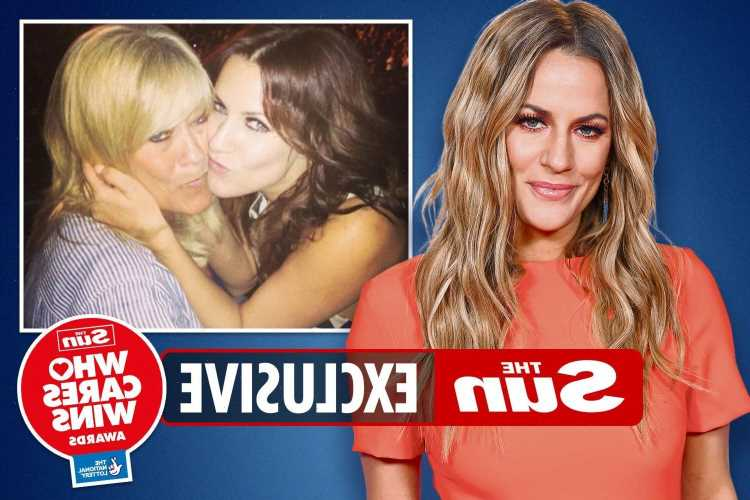 Caroline Flack's mum says star was a happy-go-lucky girl but was petrified of people seeing her dark side