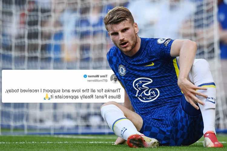 Chelsea star Timo Werner thanks fans for backing him after one supporter hurled abuse during open training session