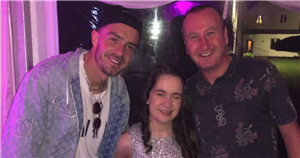 Coronation Street star Andy Whyment surprises Jack Grealish's sister on her 18th birthday