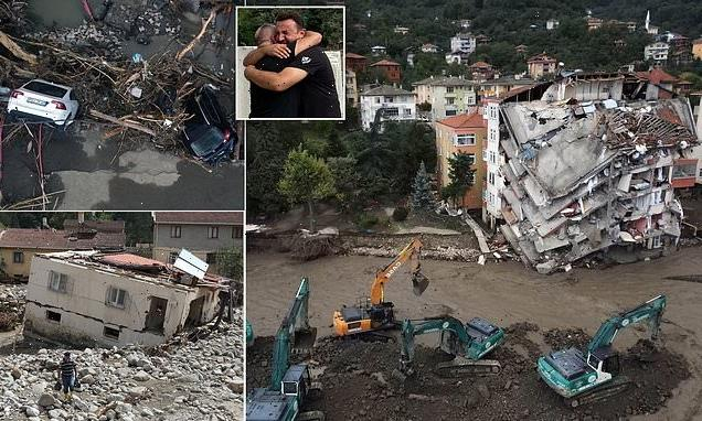 Death toll from severe floods and mudslides in Turkey climbs to 44