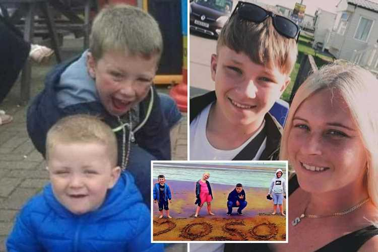 Devastated mum-of-six whose 'hero' son, 14, died saving girl who couldn't swim in canal says 'I wish he'd been selfish'