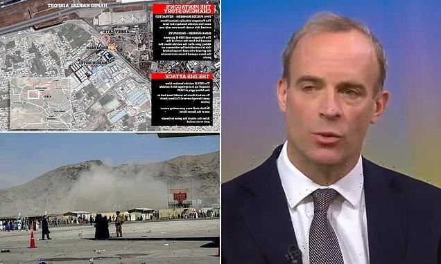 Dominic Raab DENIES Britain 'made Kabul airport suicide attack worse'