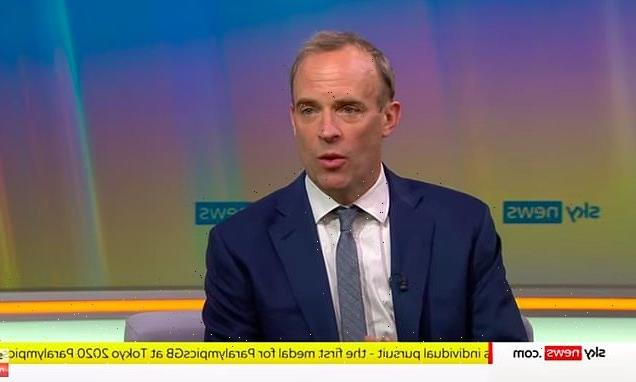 Dominic Raab defends delayed return from holiday amid fall of Kabul