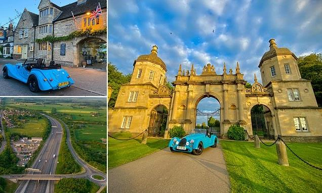 Driving the historic Great North Road in a £65k Morgan sports car
