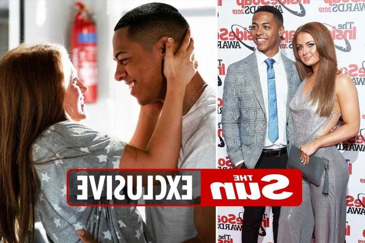 EastEnders stars Maisie Smith & Zack Morris appear loved up after they are seen entering unisex toilet together