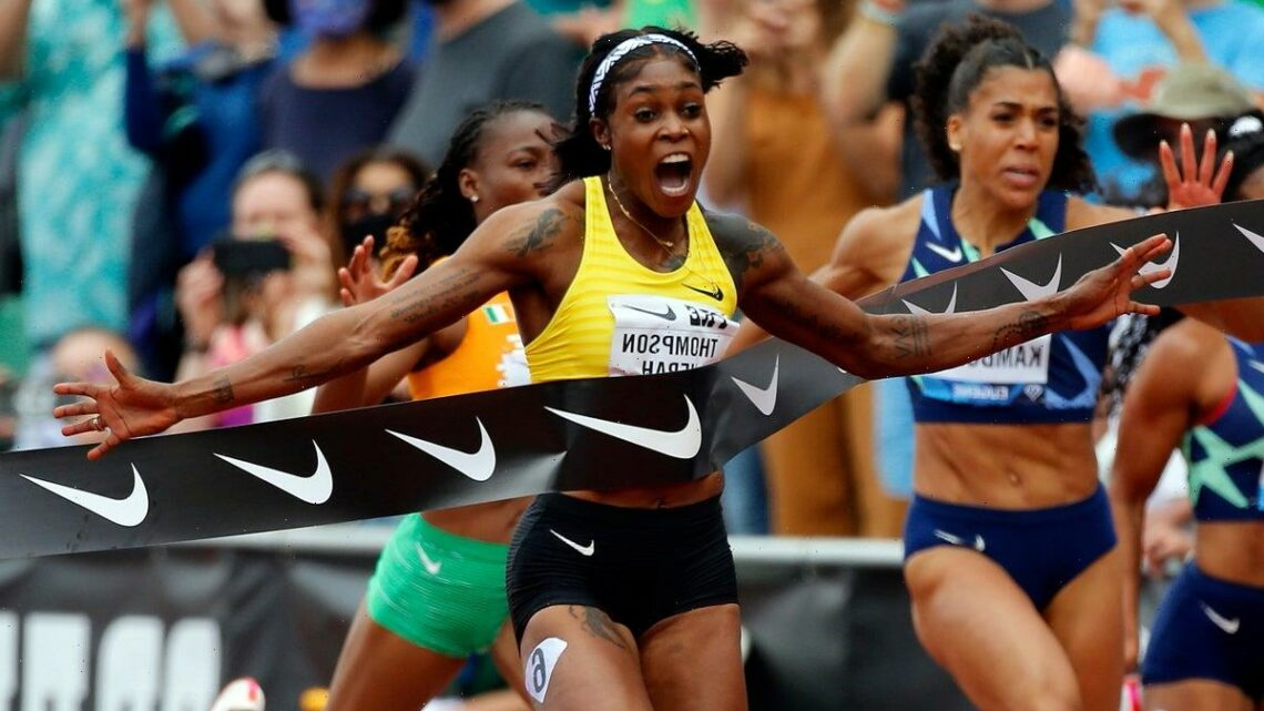 Elaine Thompson-Herah rockets towards immortality as track's sprint queen