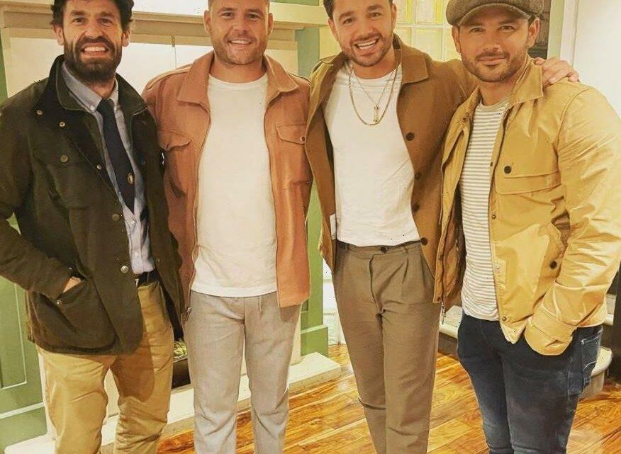 Emmerdale fans go wild as Adam Thomas, Kelvin Fletcher and Danny Miller reunite