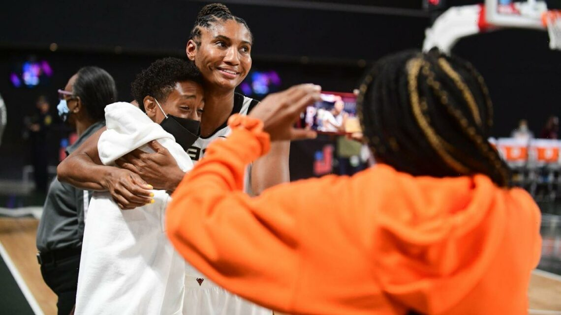 For hurt McCoughtry, special gesture a Dream