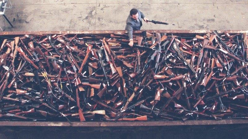 From the Archives, 1996: Thousands of guns crushed in wake of Port Arthur