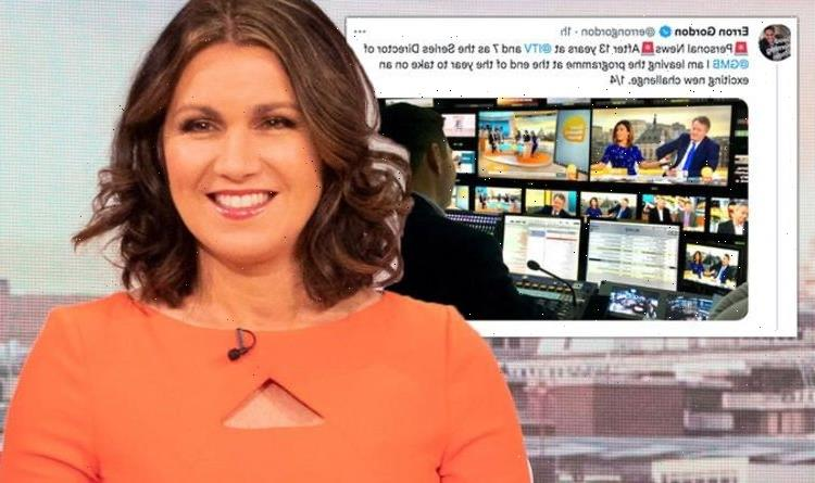 GMB boss steps down after 13 yearsas hosts bid farewell 'Looking forward to next chapter'
