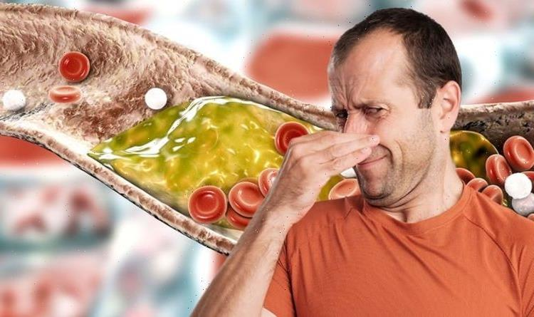 High cholesterol symptoms: Can you smell that? The smelly warning sign of high cholesterol