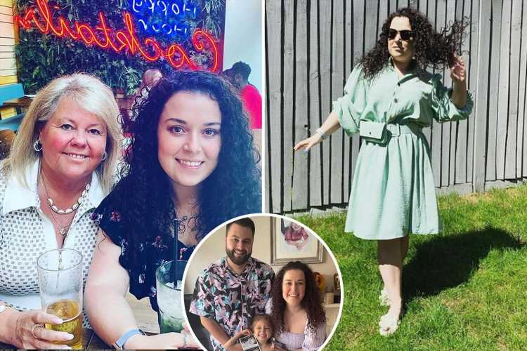 How Tracy Beaker star Dani Harmer hid her pregnancy – from hiding behind handbags to mocktails in pics