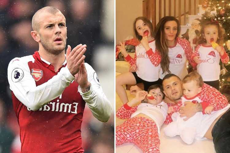 Jack Wilshere considering retirement at just 29 as Arsenal legend reveals his kids ask 'how come no club wants you?'