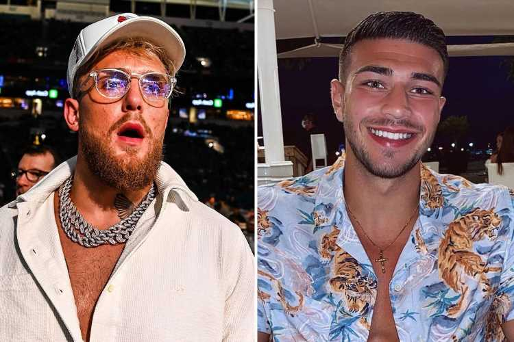 Jake Paul tells Tommy Fury he 'can't step back' on PPV numbers and tells Love Island star he has 'no audience in US'
