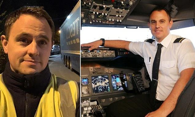 Jet pilot who lost his job in lockdown earns MORE as a lorry driver