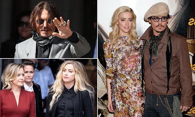 Johnny Depp wins right to sue Amber Heard in $50million libel case