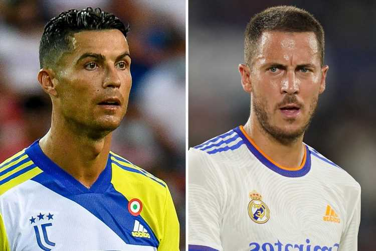Juventus 'plot Eden Hazard transfer from Real Madrid' to replace Cristiano Ronaldo after selling legend to Old Trafford