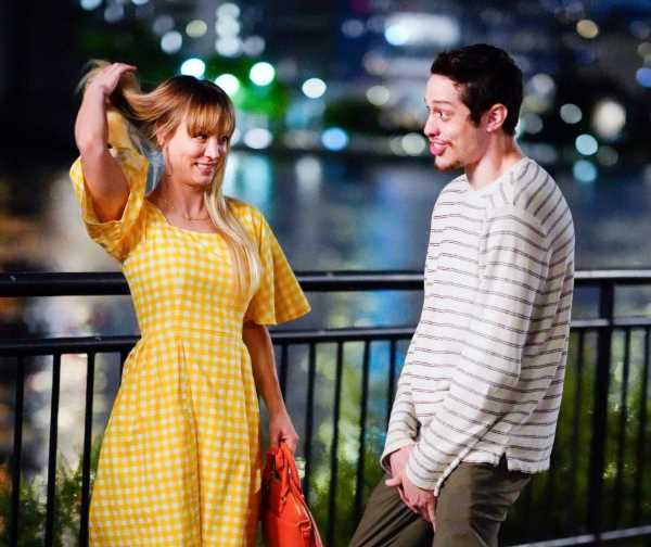 """Kaley Cuoco and Pete Davidson Make a """"Cute"""" Couple for This New Movie"""