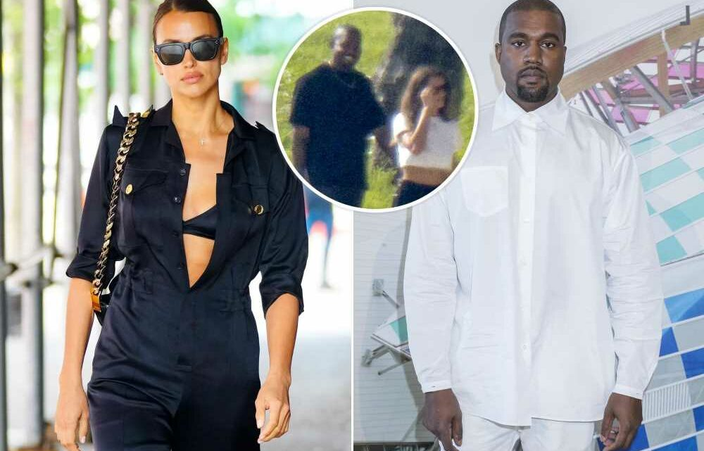 Kanye West and Irina Shayk over before they began