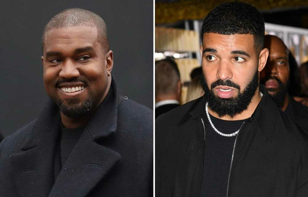 Kanye seemingly responds to latest Drake diss verse in group text with Pusha T