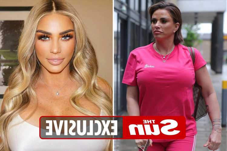 Katie Price 'attacked' and rushed to hospital with 'split eye' as man arrested after fight at home