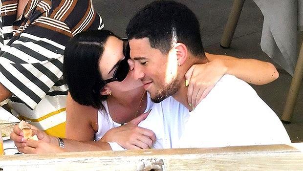 Kendall Jenner Passionately Kisses Devin Booker On Romantic Italian Getaway