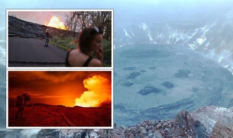 Kilauea warning as more than 140 earthquakes rock Hawaiian volcano