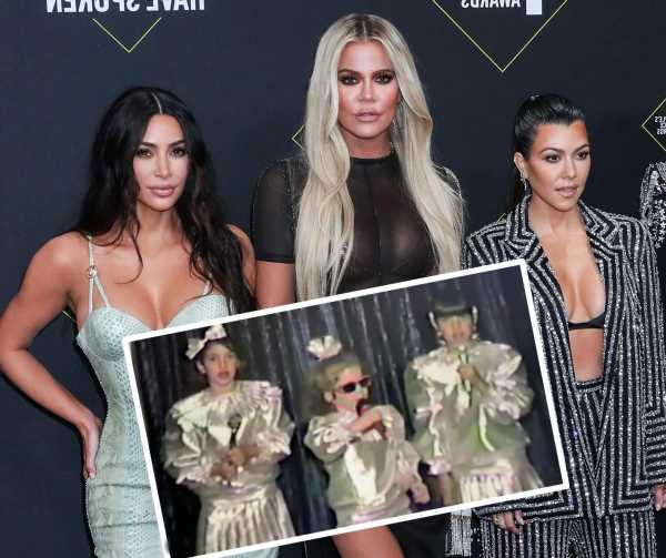 Kim Kardashian Shares Sisters' Star Search Audition Tape! WATCH!