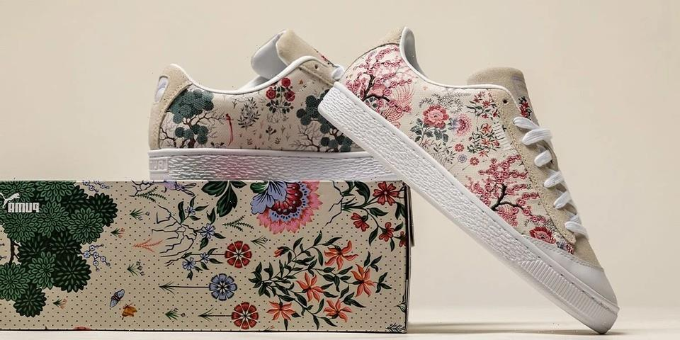 Liberty of London's Flowing Floral Print Hits the PUMA Basket