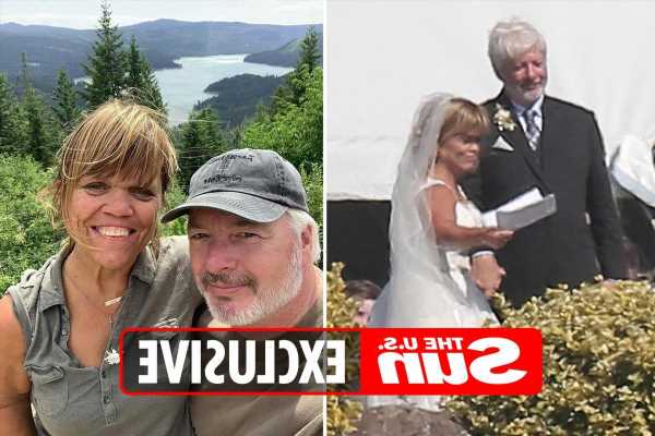 Little People star Amy Roloff's new husband Chris Marek reveals couple's honeymoon plans after fairytale farm wedding