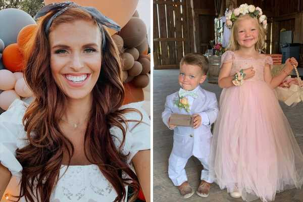 Little People's Audrey Roloff says her daughter & Tori's son 'didn't leave each other' at Amy's wedding amid family feud