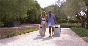 Love Islanders in tears as Jake Cornish and Liberty Poole leave the villa following split