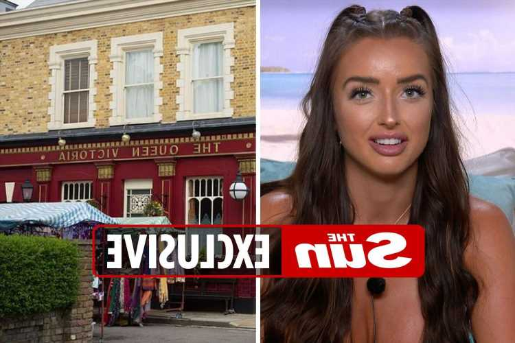 Love Island's Amy Day says she wants to land a part in EastEnders or Hollyoaks after leaving the ITV2 reality show
