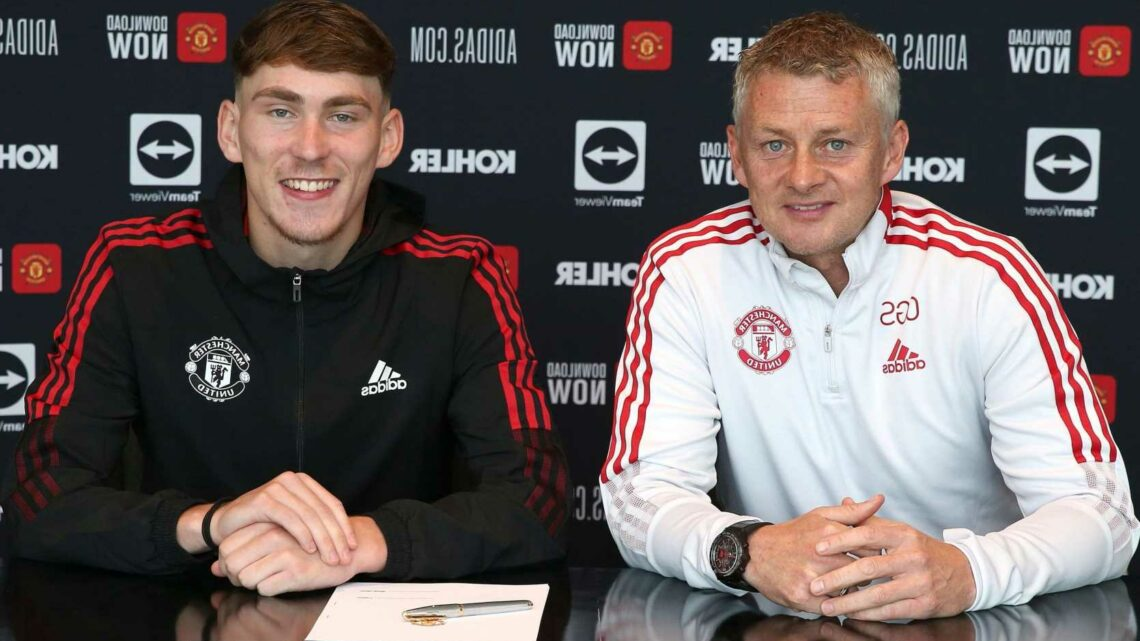 Man Utd starlet James Garner signs new contract before joining Nottingham Forest on loan transfer until end of season