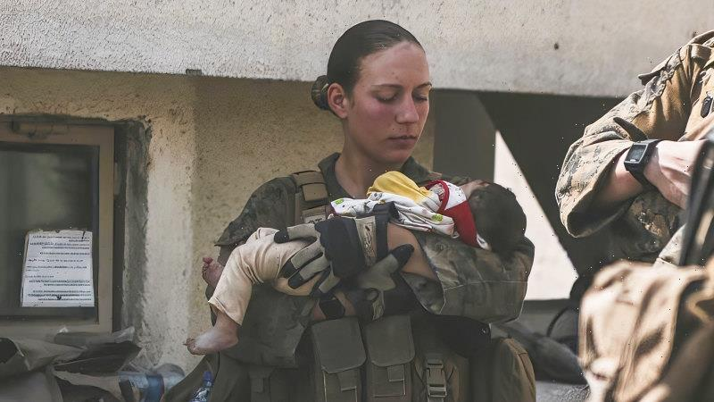 Marine who cradled baby at Kabul airport among Americans killed in bombing