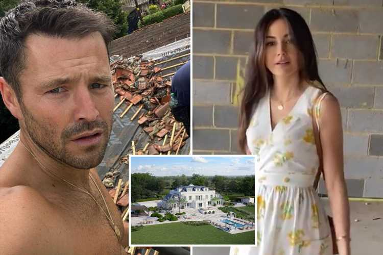 Mark Wright and Michelle Keegan's £3.5M mega mansion 'still far from completion' – despite work starting over a YEAR ago