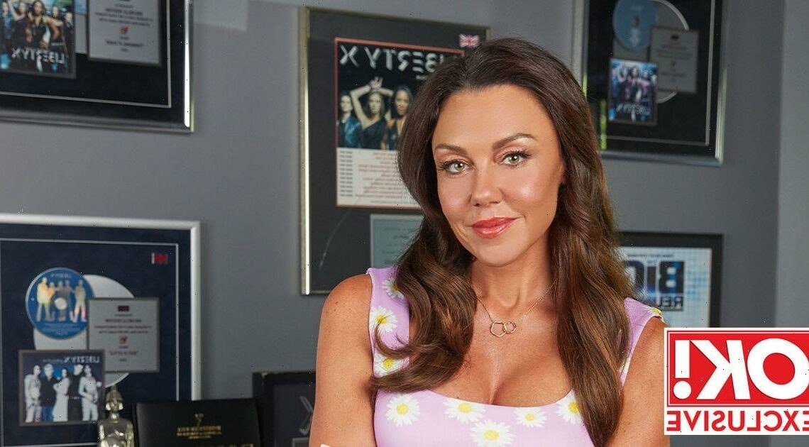 Michelle Heaton says she's 'lucky to be here' after celebrating 100 days sober